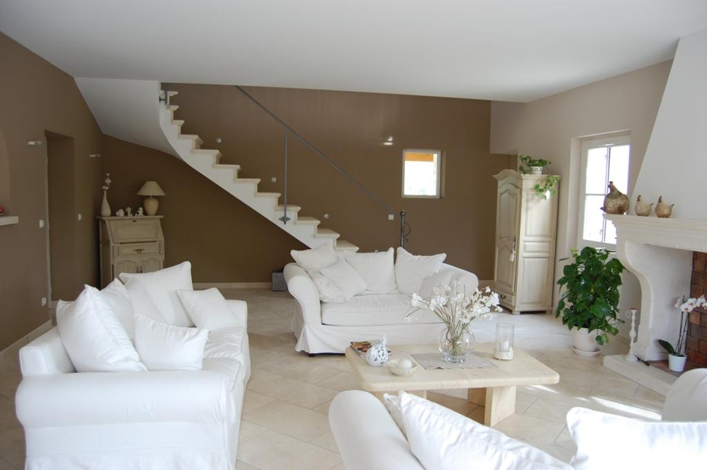 de meubles pour un salon ralis avec peinture la caseine couleur - Couleur Peinture Pour Salon Moderne